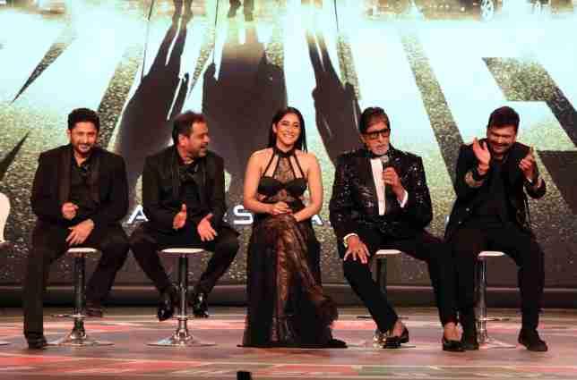 Anees Bazmee-Arshad Warsi-Regina Cassandra-Amitabh Bachchan-Gaurang Doshi